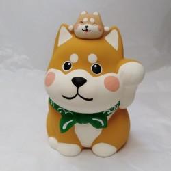 Salvadanaio cane Shiba