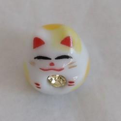 Mini lucky cat Yellow