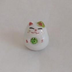 Mini Lucky cat- green