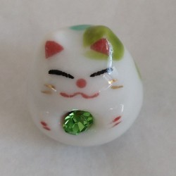 Gattino x portamonete Verde