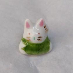 coniglio portafortuna verde