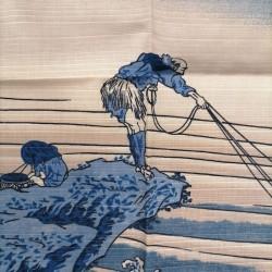 """Furoshiki 50cm Hokusai """"Pescatore"""""""