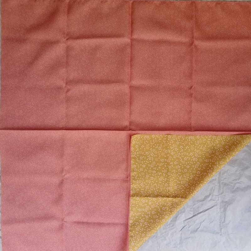 Furoshiki 70cm Pink&Yellow