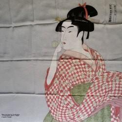 Furoshiki 70cm Woman with glass toy