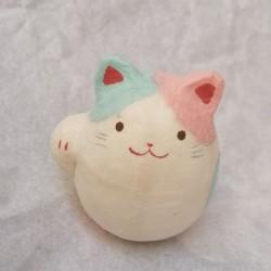 Manekineko PaperMache- Pink