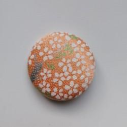 Covered button 4cm Kimono silk