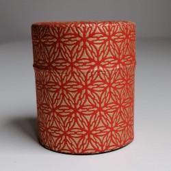 Tea tin- red