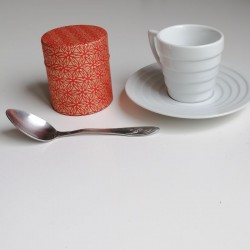 Contenitore del tè -rosso