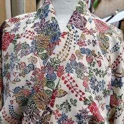 Kimono Komon Chirimen