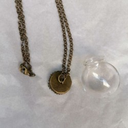 Glass ball necklace KIT