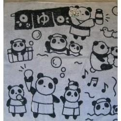 Asciugamano Panda in terme