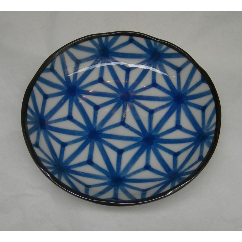 11.5cm plate HempLeaf